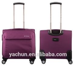 Stylish waterproof pilot trolley case with laptop sleeve