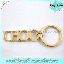cusotm all type hollow keychain/gold keychain/18k gold keychain