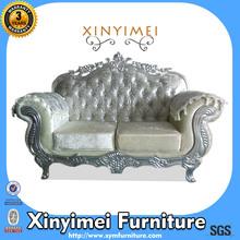 Two Seat Wedding Luxury Velvet Sofa