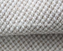 Que sobresale de copo de nieve Natural de cáñamo tela de algodón para Textiles para el hogar, Hilado teñido tejido de yute para ropa, Material de los zapatos