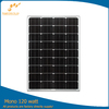 high efficiency 120w solar panel with A grade solar cells in china