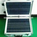 uso en el hogar de largo tiempo de trabajo generador solar portátil