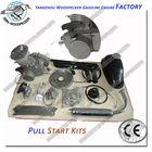 80cc 2 Stroke Cycle Bike Bicycle Motorized Engine Kit Black Motor Chrome