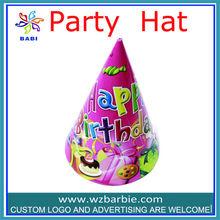 happy birthday paper hats