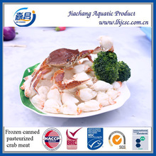 Frozen Canned Pasteurized Cooked Crab Meat