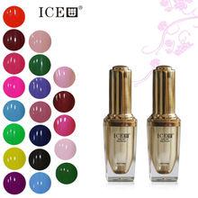 [I.C.E]2015 hot sale OEM gel polish,nail salon supply