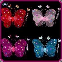 New design kids butterfly wings girls cheap cute fairy butterfly wings