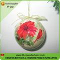 de espuma de poliestireno decorado bola de navidad