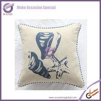 18693 new design designer handmade deer print cushion cover