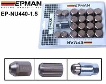Original EPMAN RACING Forged Aluminum Lock LUG NUTS M12X1.5 BRONZE 20 PCS H (Work Wheels Close Closed End Ended) EP-NU440-1.5