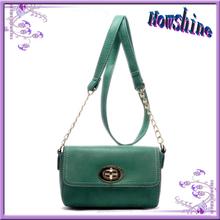 High quality fashion genuine leather bag lady design italian leather shoulder bags