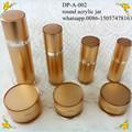 Tarro de acrílico 50ml, 30ml recipiente de plástico cosmético, singular 15ml envases de productos cosméticos. 50g envases cosméticos de lujo en botella