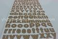 2014 venta caliente glitter alfabeto/carta etiqueta de la hoja para scrapbooking/decoración