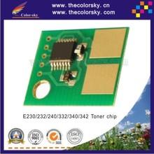 (CS-LE230) smart reset laser printer toner chip for Lexmark E 230 232 238 240 330 332 332n 340 342 342n BK