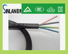 Power cord /retractable power extension cord/4 CORES electricity cable