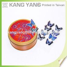 Custom Kids 3d Sticker Butterfly Cutout Pattern