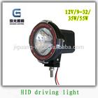 "4"" high power atv/utv 35W /55W 4x4 hid off road driving light JG-918"