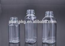 ตารางพลาสติกขวด500ml, 16ozตารางขวดpet, 250mlขวดพลาสติกน้ำ