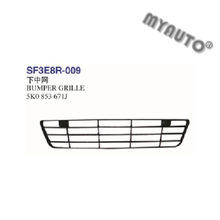 BUMPER GRILLE USED FOR VW GOLF 6 R20