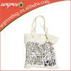 Fashion Natural Cotton Canvas Shopping Bags
