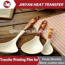 mande in china heat transfer film heat seal label