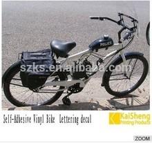 self adhesive dirt bike sticker design vinyl bike sticker