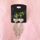 custom made black earring cards wholesale