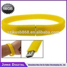 Christmas 1GB 2GB 4GB 8GB 16GB Bracelet usb flash drive/usb memory bracelet/wrist USB