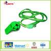 Ningbo Junye Colorful Plastic Whistle With EN71 Certification