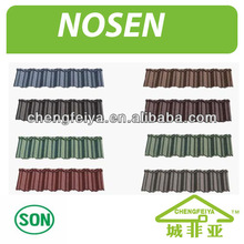 lightweight roofing material/stone coated metal shingle