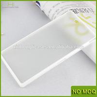 For sony xperia z1 l39h bumper case, matte back silicone bumper case cover for sony z2 z1