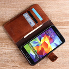 leather case for S5 genuine leather mobile cover leather holder for sale Samsung card wallet