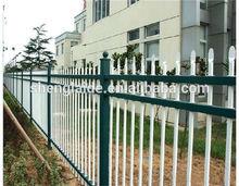 High security backyard metal fence panels/metal dog fence wholesale manufacturer