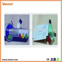 miniature push button membrane switch