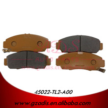 FOR CP1/RA6/ODYSSEY SEMI-METAL LOW PRICE BRAKE PADS FOR HONDA CARS OEM: 45022-TL2-A00