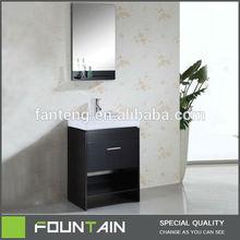 Big Storage 15mm MDF Board H-050 Strange Bathroom Vanity Design