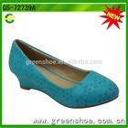Fashion wedge shoes summer girl high heel sandal 2014