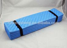 2014 high durable EVA Egg nest camping trough folded dampproof mat outdoor accessory folding mat plate carpet Customized Mat
