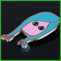 2014 modern girl custom metal pin badges/girl custom decoration lapel pins handicraft