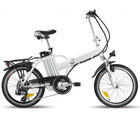 YD-LB-20CP06 20er electric aluminum alloy folding bicycle pedal mopeds hybrid bike