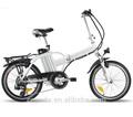 Yd- lb- 20cp06 20er elétrica da liga de alumínio de dobramento da bicicleta triciclo de adulto 500w