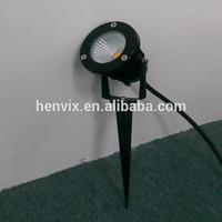 2014 Newest 7w 12v COB led solar garden light