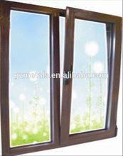 Aluminum tilt&turn glass window