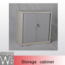 steel metal lockable roller shutter door office cabinet