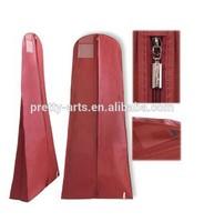 top quality cheap custom wedding dress gown bag with zipper