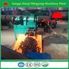 Factory direct sale wood sawdust briquette charcoal making machine
