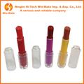Henna fina tons poppy& brilhante& ferrugem vermelha lip balm stick tipo& mancha protetor solar matte magic cosméticos batom de longa duração