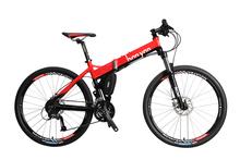 2014 new design folding mountain bike,non used mountain bikes X5