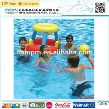 Inflatable water pool floating basketball hoop