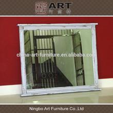 Antique wood furniture european style mirror